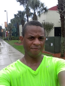 It rained all 14.1 miles