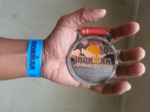 My finishers medal up close and personal.