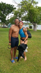 My friend and fellow triathlete Renate G.